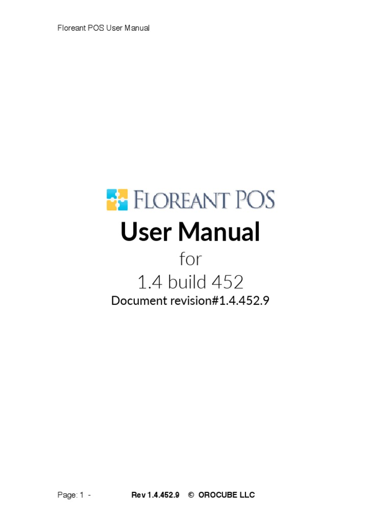 FloreantPOS_Manual_1 4 452 | Point Of Sale | Button (Computing)
