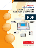 Acson Hydrotech Chilled Water System Solution Application Manual