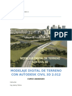 Curso Avanzado Civil 3d 2012 Manual