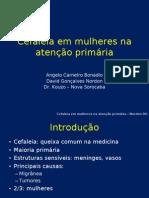 Cefaleia em mulheres na atenção primária