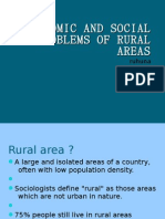 Economical and Social Problems in Rural Areas