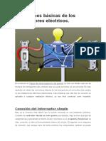 Conexiones básicas de los interruptores eléctricos.docx