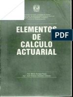 Elementos de Cálculo Actuarial FES-Acatlán MAP-JASCH DR UNAM