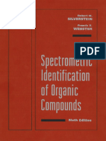 Spectrometric Identification of Organic Compounds 6th Edition (R. M. Silverstein & F. X. Webster)