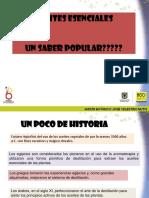 Presentacion de Aceites Esenciales.