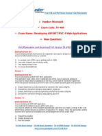 [Nov] New 70-486 Exam Dumps With PDF and VCE Download(1)