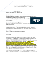 Derecho Constitucional Chileno