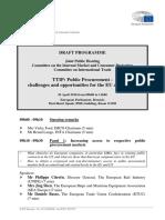s 2014 2019 Plmrep COMMITTEES IMCO DV 2016-04-20 Draft Program Hearing TTIP En