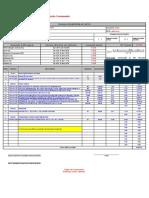 Planilha Orçamentária Obras. Edificação Reforma Ampliação.
