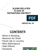 Problems Related Flood in Ratnapura District
