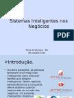 Sistemas Inteligentes Nos Negócios
