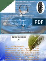 contaminación y tratamiento del agua