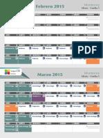 Calendar i o enarm cto