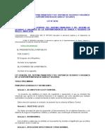 Ley General Del Sistema Financiero y Del Sistema de Seguros y Orgánica de La Superintendencia de Banca y Seguros