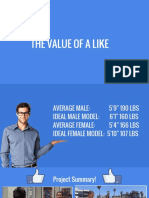 the value of a like