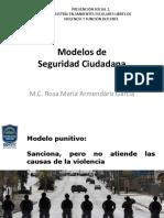 3 Prevención Social I - Modelos de Seguridad Ciudadana