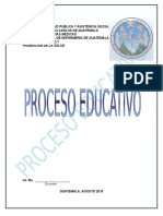 PROCESO-EDUCATIVO Aplicado a Una Etapa Del Ciclo Vital