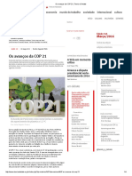 _Os Avanços Da COP 21 _ Teoria e Debate