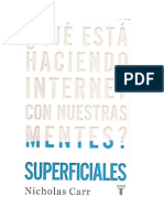 Superficiales Carr 2010