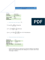 Cálculos Para Un Sistema Forzado y Retscreen