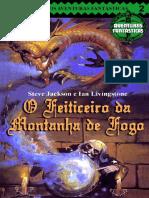Aventuras Fantásticas 02 - O Feiticeiro da Montanha de Fogo