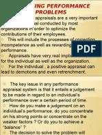 Analyzing Performance Problem
