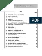 Impuesto especial sobre producción y servicios 2016