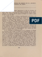 El Archivo de Jesuitas de Mexico en el Archivo Nacional de Chile