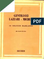 Gentilucci Lazzari solfeo