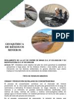 Geoquimica de Residuos Mineros