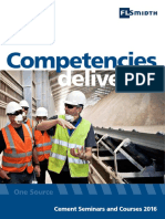 Cement Seminars and Courses 2016
