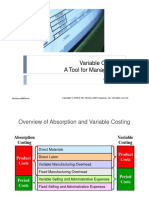 7 Variable Costing a Tool for Management Compatibility Mode