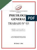 TRABAJO PSICOLOGIA