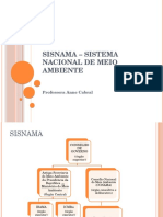 SISNAMA – Sistema Nacional de Meio Ambiente