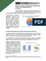 Estadística Preliminar Del Subsector Electrico - Marzo 2016-Ver1-567887y3z8z1z58z8u9