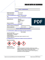 SKC-S Aerosol Spanish SDS Rev 2.2 2015-11-11