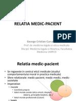 01 Relatie Medic-pacient 2016 Prezentare
