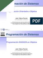 Programación Orientada a Objetos