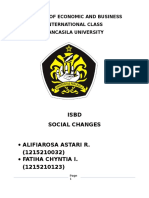 ISBD - Social Changes