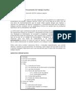 Herramientas Para La Presentación de Trabajos Escritos