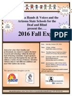 2016 Fall Expo Flyer