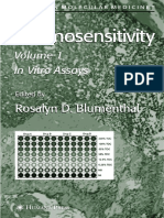 Chemosensitivity Vol 1