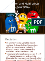 Mediation and Multi-group Moderation