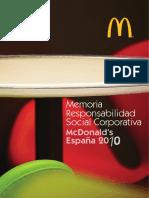 Memoria RSC McD Espana 2010.pdf