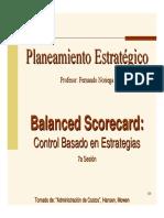 Sesion Balanced Scorecard