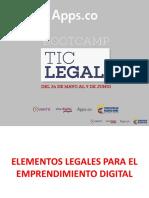 Apps-Elementos legales para el emprendimiento digital, Camilo Escobar Mora.pdf
