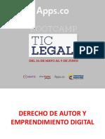 Apps-Derecho de autor y emprendimiento digital. Camilo Escobar Mora.pdf