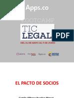 Apps-El Pacto de Socios. Camilo Escobar Mora