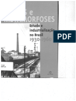 Rumos e Metamorfoses - Estado e industrialização no Brasil 1930-1960 capítulo 1
