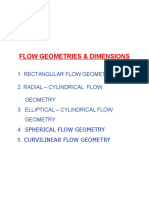 Flow Geometries